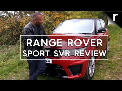 Range Rover Sport SVR review: Big. bad and brutally fast