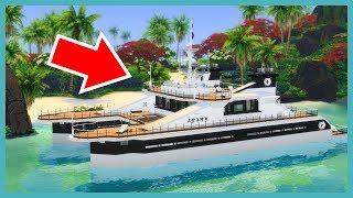 This Sims 4 boat is amazing! (Your Gallery Builds)