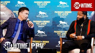 Pacquiao vs. Broner: Press Tour Recap | Jan. 19 on SHOWTIME PPV