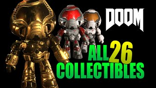 "Doom 4 | ALL Collectilbes ""Every Nook and Cranny"" Achievement / Trophy"
