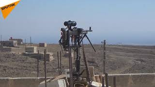 Kỹ sư Syria phát minh ra hệ thống bảo vệ với súng trường Kalashnikov