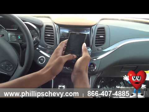 2015 Chevy Impala - Pairing Phone to Wi-fi - Phillips Chevrolet - Chicago New Car Dealership
