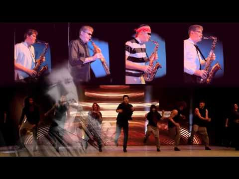 Moves Like Jagger - Sax Cover By Woody Martin Feat. Adam Garcia video
