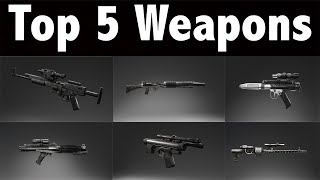 Battlefront: Top 5 Best Weapons