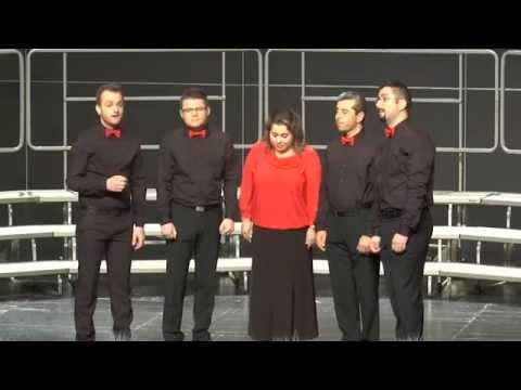 ROMANIA INTR-UN CANTEC, Arr. Ciprian Tutu - Ciprian Cucu, Vytautas Miskinis - ANATOLY VOCAL QUINTET