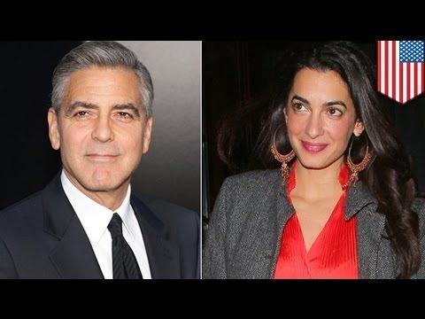 George Clooney, engaged sa British lawyer na si Amal Alamuddin!