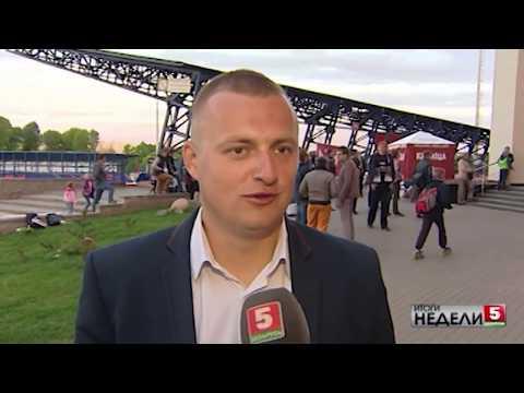 Сюжет о матче «Крумкачы» – «Ислочь» в передаче «Итоги недели»