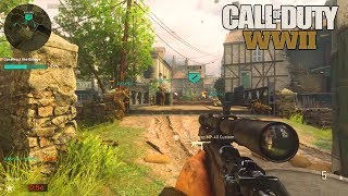 "67 KILL GAME!!! - NEW CALL OF DUTY WW2 ""WAR"" MULTIPLAYER GAMEPLAY!!!"