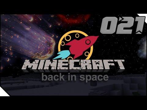 METEORITEN EINSCHLAGSORT [021] MINECRAFT: BACK IN SPACE MODPACK