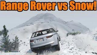 GTA 5 | Xbox One/PS4 | Off-Roading | Range Rover vs Snow!