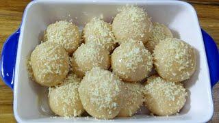 How to make White Misti/সাদা মিষ্টি রেসিপি/Sweet Recipe/Sada Misti/White ChomChom Sweets
