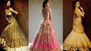 Ten Best Selling Lehenga Gown Designs On Amazon India