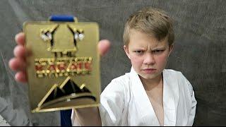 KID WINS KARATE GOLD MEDAL!!!