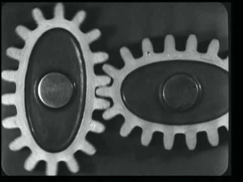 Mechanical Principles (1930) by Ralph Steiner [4min selection]