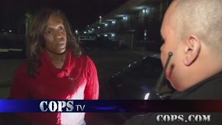 Bling Bling Surprise, Officer Tony Peterson, COPS TV SHOW