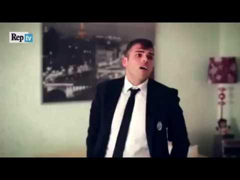 La parodia di Max Allegri con Edoardo Mecca e Valentina Allegri