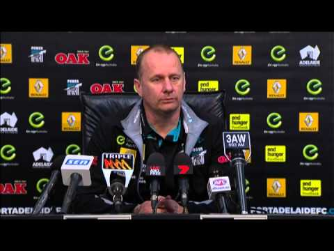Ken Hinkley post-game v Hawks - R21, 2015