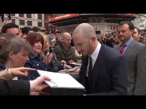 Noah: London Premiere Cast Arrival and Fashion - Russell Crowe, Emma Watson, Logan Lerman