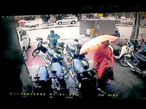 Thief Steals Moto C125 series 2005 in front of SPK FUJI (Cambodia)