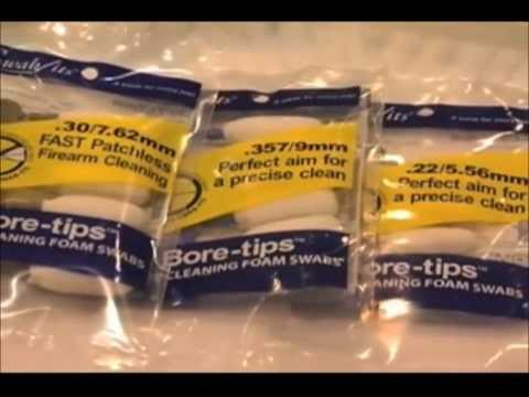 Swab-its® Bore-tips® Firearm Cleaning Swabs Commercial Spot