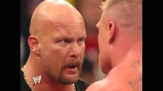 WWE Alumni  Goldberg vs  Brock Lesnar   WrestleMania XX