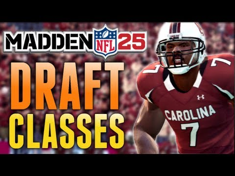 Madden 25 News - Imported NCAA 14 Draft Classes Return & Minor Connected Franchise Info