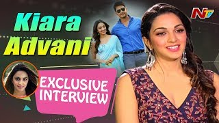 Mahesh is So Humble and Chilled Out On Sets: Kiara Advani || Bharat Ane Nenu  Exclusive