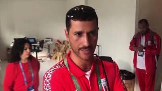 حمادة طلعت الذي رفع علم السعودية في الأوليمبياد يشرح أسباب رفعه للعلم السعودي