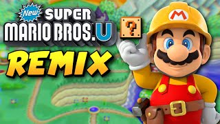 New Super Mario Bros. U REMADE in Super Mario Maker