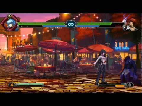 The King of Fighters XIII: Console Combo Showcase
