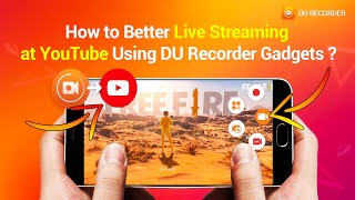 How to Live steam on YouTube using DU Recorder Bangla | ring ID ref