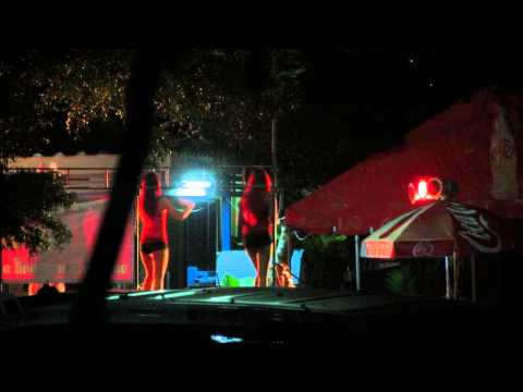 Sexy Coyote Dancers At A Street Party In Rangsit , Thailand 2014 video