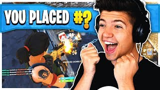 THIS. IS. EPIC! - Fortnite: Battle Royale