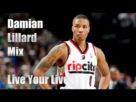 Damian Lillard Portland Trail Blazers Rookie Year mix - Live Your Life [HD]