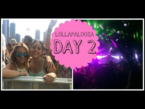 LOLLAPALOOZA DAY 2: Vance Joy, Foster the People, Calvin Harris, & More! | DailyPolina
