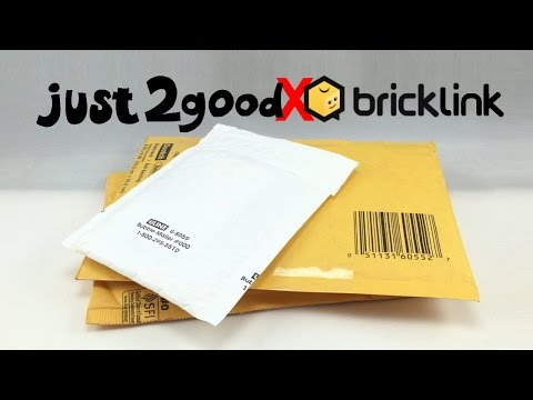 just2good's FIRST BrickLink LEGO haul unboxing!