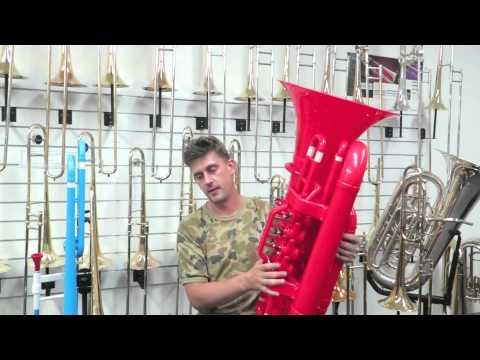 Tiger Plastic Tuba and Trombone