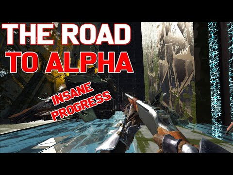 THE ROAD TO THE ALPHA TRIBE - ARK : SURVIVAL EVOLVED
