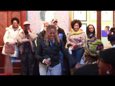 0 - Poet Gold Performs at Art Show Reception