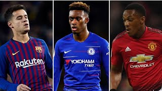 Anthony Martial makes BIG decision, Coutinho to Man United ON & Hudson-Odoi Deal OFF?