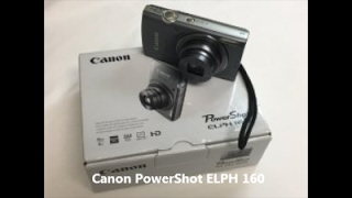 Canon PowerShot ELPH 160 Review and Tutorial