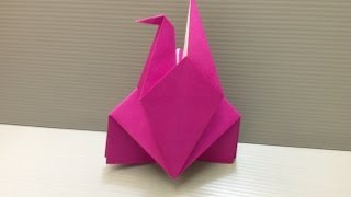 Daily Origami: 083 - Carrier Pigeon