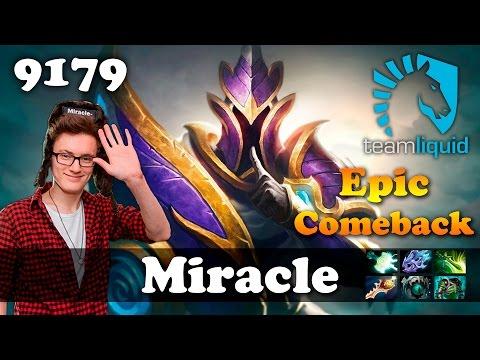Miracle Silencer Megacreeps Comeback | 9179 MMR Dota 2