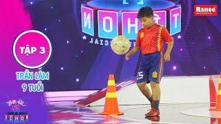 Biệt Tài Tí Hon 2|Tập 3:Tài năng bóng đá 8 tuổi khổ luyện kiên trì với ước mơ vào đội tuyển quốc gia