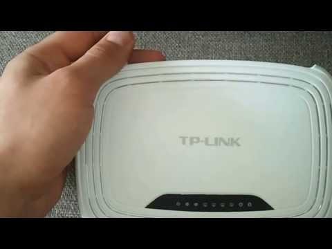 TP-LINK TL-WR740N - przed konfiguracja