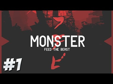 FTB Monster - Ep.1 - The Biggest FTB Mod Pack Yet! [Minecraft 1.6.4]