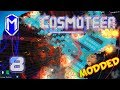 Cosmoteer - Massive Number of Splitfires, Trapping Ships - Let's Play Cosmoteer Mods Gameplay Ep 8
