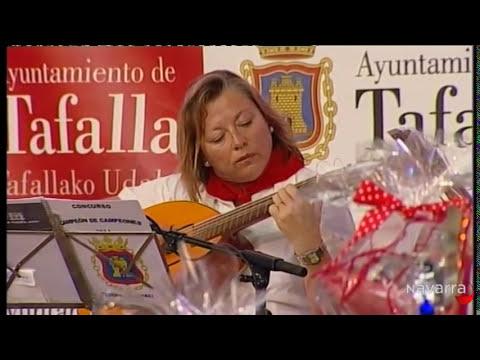 XXXVIII Gran Certamen de la Jota Navarra desde Tafalla 10 agosto 2014 parte 1