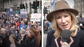 """London """"Remain"""" Rally Brings Out Anti-Brexit Socialists   Janice Atkinson"""