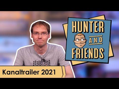 Hunter & Friends - Kanaltrailer 2021
